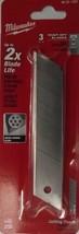 Milwaukee 48-22-1325 25mm General Purpose Snap Blades (3 PK) USA - $3.96