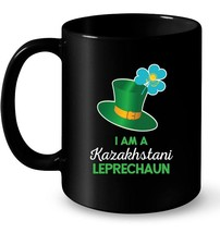 Leprechaun St Patricks Day Kazakhstan Casual Gift Coffee Mug - $13.99+