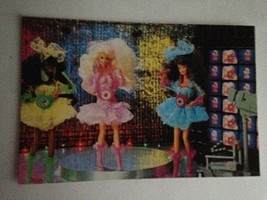 VTG Postcard Barbie Doll Collector Christmas Gift Grand Old Opry Dresses... - $12.62