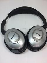 Bose QuietComfort 15 Acoustic Noise Cancelling Headphones FOR PARTS/REPAIR - $29.69