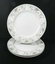 "3 Dinner Plates Wade Sone ""Claremont"" Fine Porcelain China Japan 10-3/8"" - $16.82"