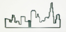 Chicago Skyline Silhouette Windy City Skyscrapers Cookie Cutter USA PR3370 - $2.99