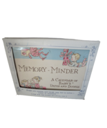 Vintage 1963 Memory-Minder A Calendar of Baby's Dates and Doings Baby Ca... - $19.75