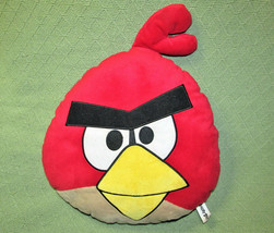 "18"" Angry Birds Pillow Head Plush Stuffed Animal Red Character Commonwealth Toy - $14.03"