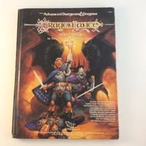 Advanced Dungeons & Dragons AD&D Dragonlance Adventures Hardcover #2021 1987 - $24.54