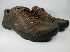 Keen Finlay Size US 14 M (D) EU 47.5 Men's Casual Oxford Shoes Brown 1008423