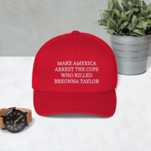 Make America Arrest The Cops Hat / Make America Arrest The Cops / Trucker Cap image 2