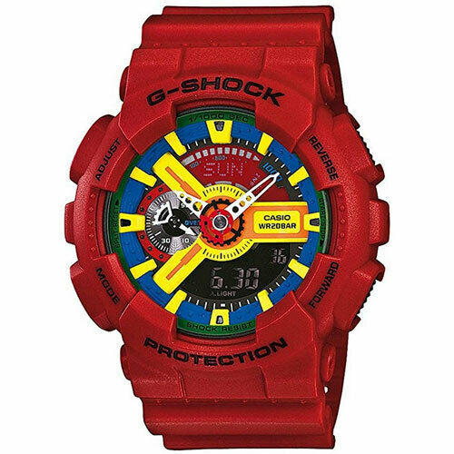 Primary image for New Casio G-shock GA-110FC-1 Hyper Colors Rare Big Face Men Watch