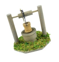 Touch of Nature Mini Fairy Garden Wishing Well, 3.5 by 3-Inch - $13.87