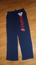 Superman Young Mens Knit Lounge Pants Size S - M - L - Xxl Navy Blue Nwt - $17.59