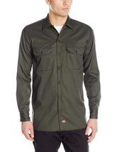 Dickies Men's Long-Sleeve Work Shirt - $25.17