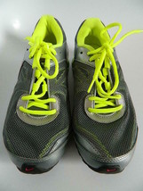 Women's Nike ReaX Run 7 Running Shoes- Silver, Red & Yellow, Size 7 - $49.99