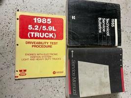 1985 Dodge Ramcharger DW 150 250 350 DIESEL Truck  Service Shop Repair M... - $79.19