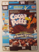 Empty General Mills Cereal Box 2011 Cocoa Puffs 11.8 Oz Maze [G7C5a] - $7.97