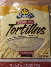 Food for Life Brown Rice Gluten Free Tortillas (Pack of 3) 12oz Each - $34.59