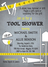 Tool Shower Invitation printable/Digital File/Tool and Gadget, Honey Do ... - $14.99