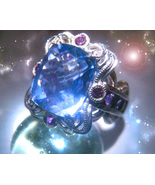 HAUNTED DJINN RING SOLOMON'S IMPERIAL HIGHEST IMPOSSIBLE WISHES VESSEL M... - $237.77