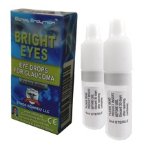 Ethos Bright Eyes NAC Glaucoma Eye Drops One Box 2 x 5ml Bottles - $86.97