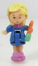 1993 Polly Pocket Doll Vintage Lot Pretty Bunnies - Polly Bluebird Toys - $7.50
