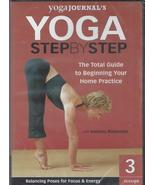Yoga Step by Step, Vol. 3: Balancing Poses for Focus & Energy [DVD - Bra... - $9.99