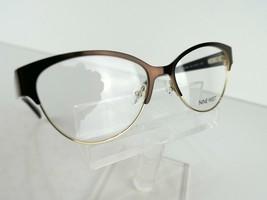Nine West NW 1066 (210) Brown / Gold  51 x 15 135 mm Eyeglass Frames - $58.87