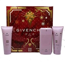 Givenchy Play For Her Perfume 2.5 Oz Eau De Parfum Spray 3 Pcs Gift Set image 6