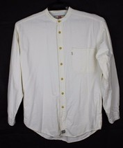 Levis quality clothing men's shirt button front authentic long sleeve si... - $19.78