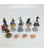 Disney Infinity 3.0 Figures, Power Disc, Crystals-Star Wars Inside Out G... - $29.91