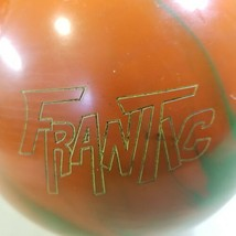 Storm Frantic 15lb Bowling Ball Orange and Green 12TWFD16D084 - $29.69