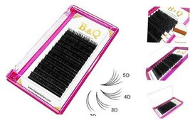 Volume Lash Extensions Easy Fan Volume Lashes 0.03 0.05 0.07 8-15 mm C-0.07 - $11.11