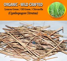 Lemon Grass Oil Grass Citronella Cymbopogon Citratus Organic Wild Crafte... - $12.40+