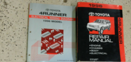1996 TOYOTA 4RUNNER 4 RUNNER Service Shop Repair Workshop Manual Set W E... - $197.95