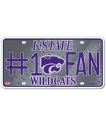 NCAA Kansas State Wildcats #1 Fan Metal Tag - $7.99