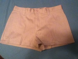 Ladies-Teen- Polo Jeans Co.-Ralph Lauren - Size 8 - khaki shorts- Krysta - $11.25