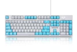 Geekstar GK802-2 Mechanical Gaming Keyboard English Korean Kailh Optical Switch image 1