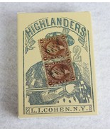 Highlanders L.I. Cohen NY 1864 Poker Deck Playing Cards - $15.83