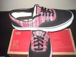 Vans Era Mens Guate Weave Black Multi Canvas Skate Boat shoes size 11 NWT - $35.63