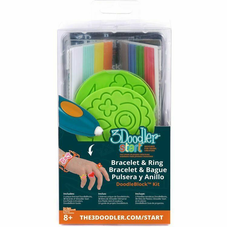 Primary image for New! 3Doodler Start Jewelry DoodleBlock Kit NIB New In Box Free Shipping!