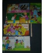 80s Children Feelings Teacher Supplies Bulletin Board Classroom Art - $22.50