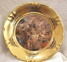 VTG Schwarzenbach Winterling Bavaria Porcelain  RUBENS PAINTING Charger Plate - $65.00