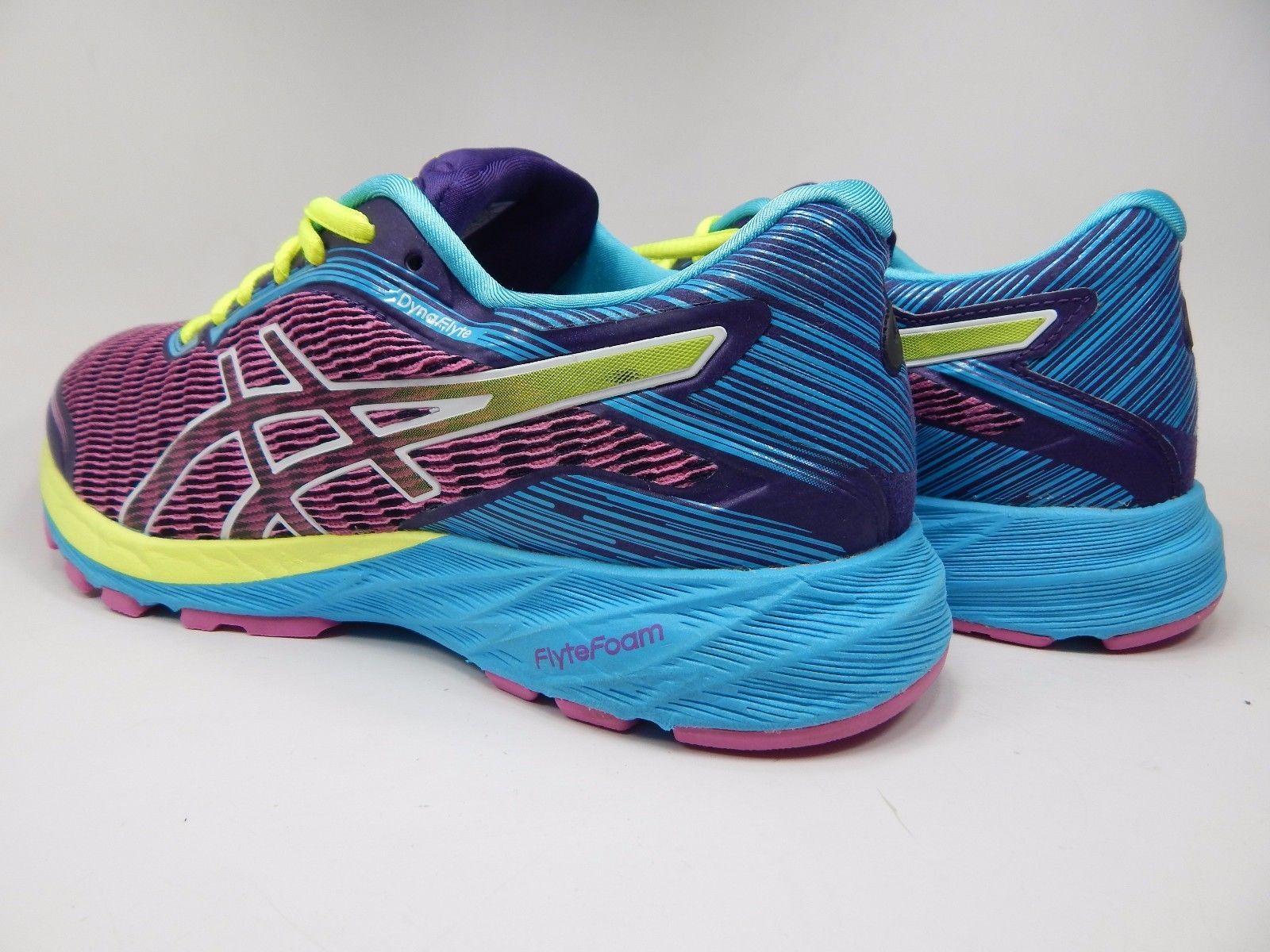 Asics Dynaflyte Women's Running Shoes Size US 8 M (B) EU 39.5 Purple Pink T6F8Y