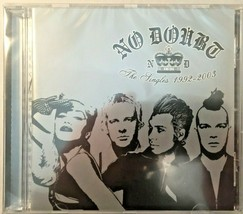 No Doubt The Singles 1992 - 2003 CD Album - $9.50