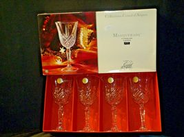 Collections Cristal d'Arques Masquerade Set of 4 Goblets AA19-CD0047 Vintage image 10
