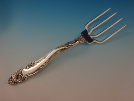 "Decor by Gorham Sterling Silver BBQ Serving Fork 7 3/4"" Custom Made - $153.05"