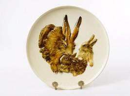 Goebel Collector Plate, Bas Relief ~ 1975 Mothers Series, Bunny w/Babies, #JS-01 - $19.55