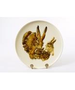Goebel Collector Plate, Bas Relief ~ 1975 Mothers Series, Bunny w/Babies... - $19.55