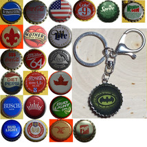 Batman Logo Coke Sprite Diet pepsi & more Soda beer cap Keychain image 1
