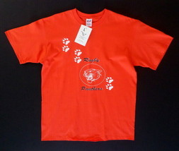 NEW Men's T-Shirt L Large Orange Rugby Panthers Pheonix Promotions Shirt NWT - $9.95