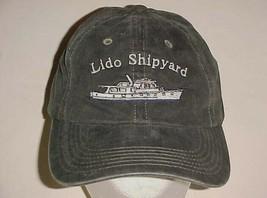 Lido Shipyard Sabatino's Sausage Adult Unisex Charcoal Black Cap One Siz... - $24.74