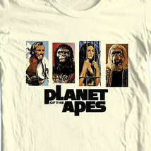 Planet of the Apes T-shirt Original vintage 1960s retro movie sci fi graphic tee image 1